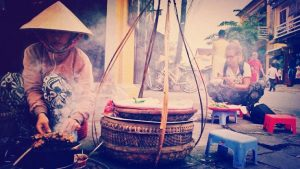 Street food in Hoi An, Vietnam