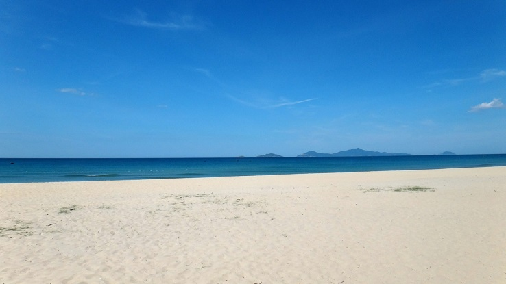 Ha My Beach, Dien Ban, Quang Nam, vietnam
