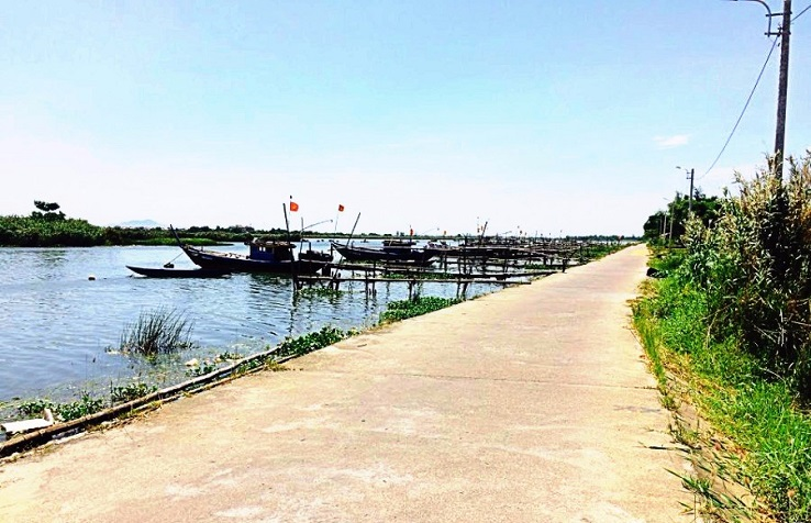 The best route from Hoi An to My Son Sanctuary (though Cam Kim bridge)