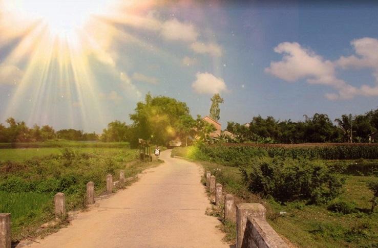 Countryside around Hoi Anu