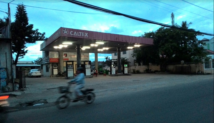 Gas station in Hoi An (Ba Le Market, Cua Dai st.)