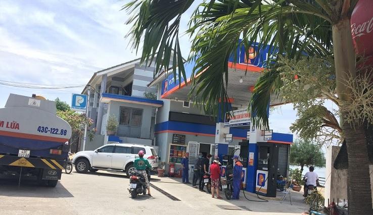Gas station in Hoi An (Tran Quang Khai st.)