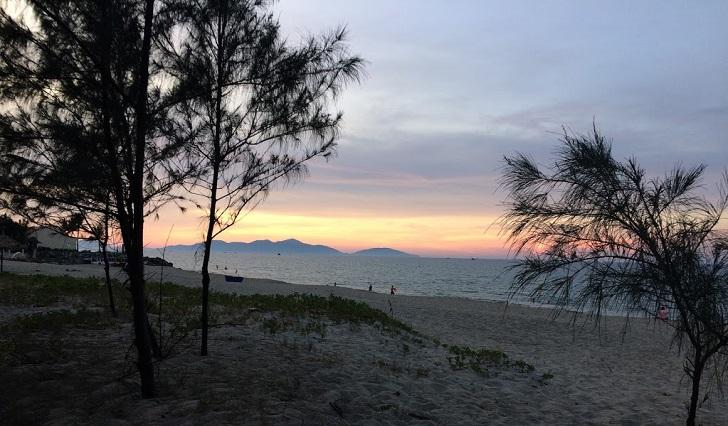 Hidden Beach closes to Cua Dai Beach, Hoi An
